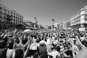 "Jesus Solana, ""Go Spanish revolution! / Indignados!"" Some rights reserved. Quelle: www.piqs.de"