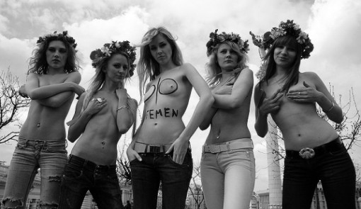 "Bild: Femen, ""2 years of Femen"" (CC BY-SA 2.0)"