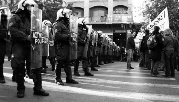 Bild: murplej@ne, Proteste gegen die Sparpolitik in Griechenland (CC-BY-SA-2.0). Quelle: Wikimedia