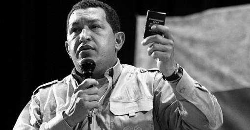 Hugo Chávez in Porto Alegre, Bild: Victor Soares/ABr (CC BY 3.0 BR)