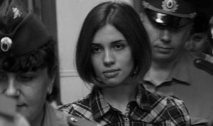 "Bild: Denis Bochkarev, ""Nadezhda Tolokonnikova (Pussy Riot) at the Moscow Tagansky District Court"". Some rights reserved. Quelle: wikimedia.org"