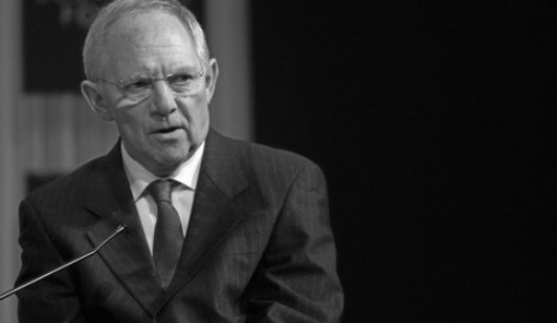 The Global Economic Outlook: Wolfgang Schaeuble